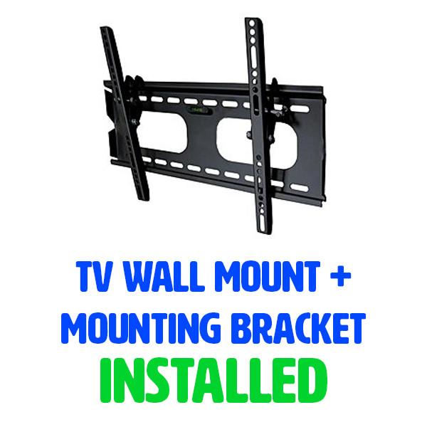 Tv Wall Mount Install Inc Mounting Bracket Cinema Home